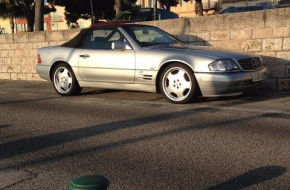 Mercedes Benz SL600 V12 drive and review (R129)