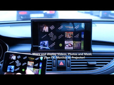 bluetooth streaming mmi 3g navigation plus video. Black Bedroom Furniture Sets. Home Design Ideas