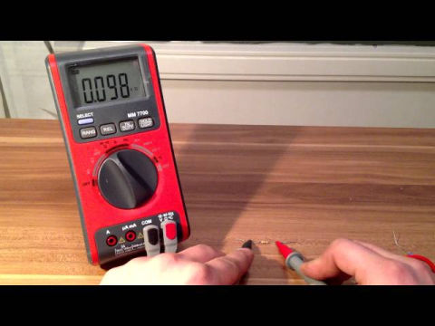 multimeter messen spannung strom widerstand diode transistor eflose video. Black Bedroom Furniture Sets. Home Design Ideas