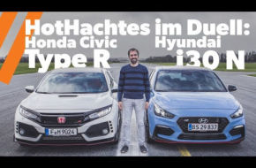 HotHatch Duell | Honda Civic Type R vs.  Hyundai i30 N