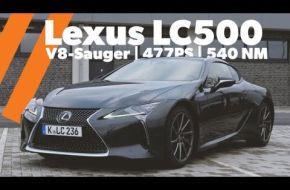 mobile.de TestDrive | Lexus LC500 | 477 PS V8-Saugmotor