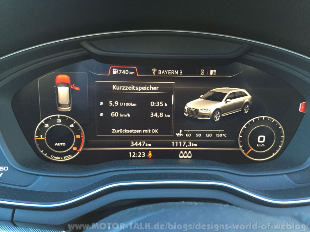 virtual cockpit audi s neuer a4 so f hrt er sich a4 avant 2 0tdi 6gg front designs. Black Bedroom Furniture Sets. Home Design Ideas