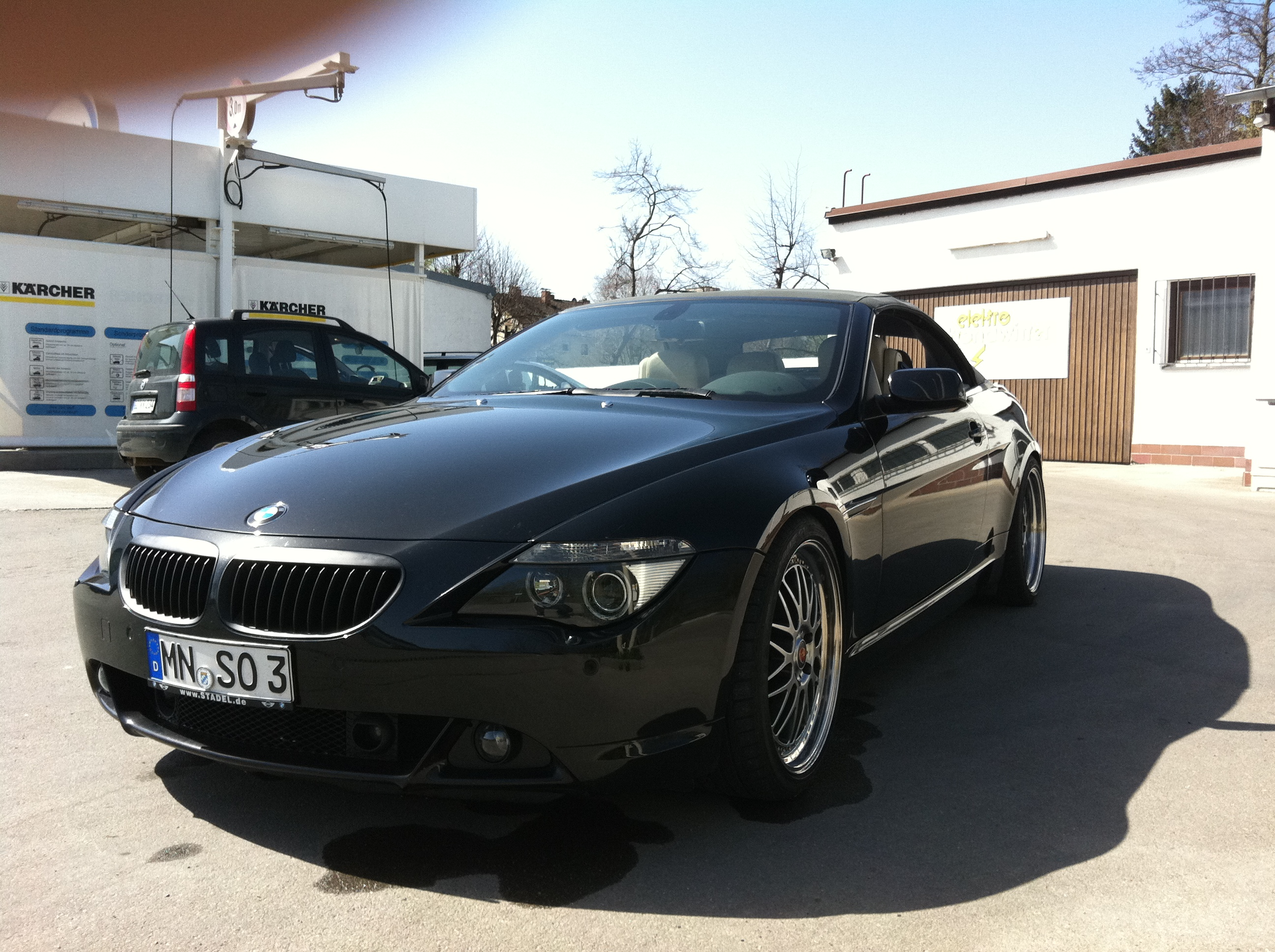 2007 bmw 630i cabrio e64 related infomation specifications weili automotive network. Black Bedroom Furniture Sets. Home Design Ideas