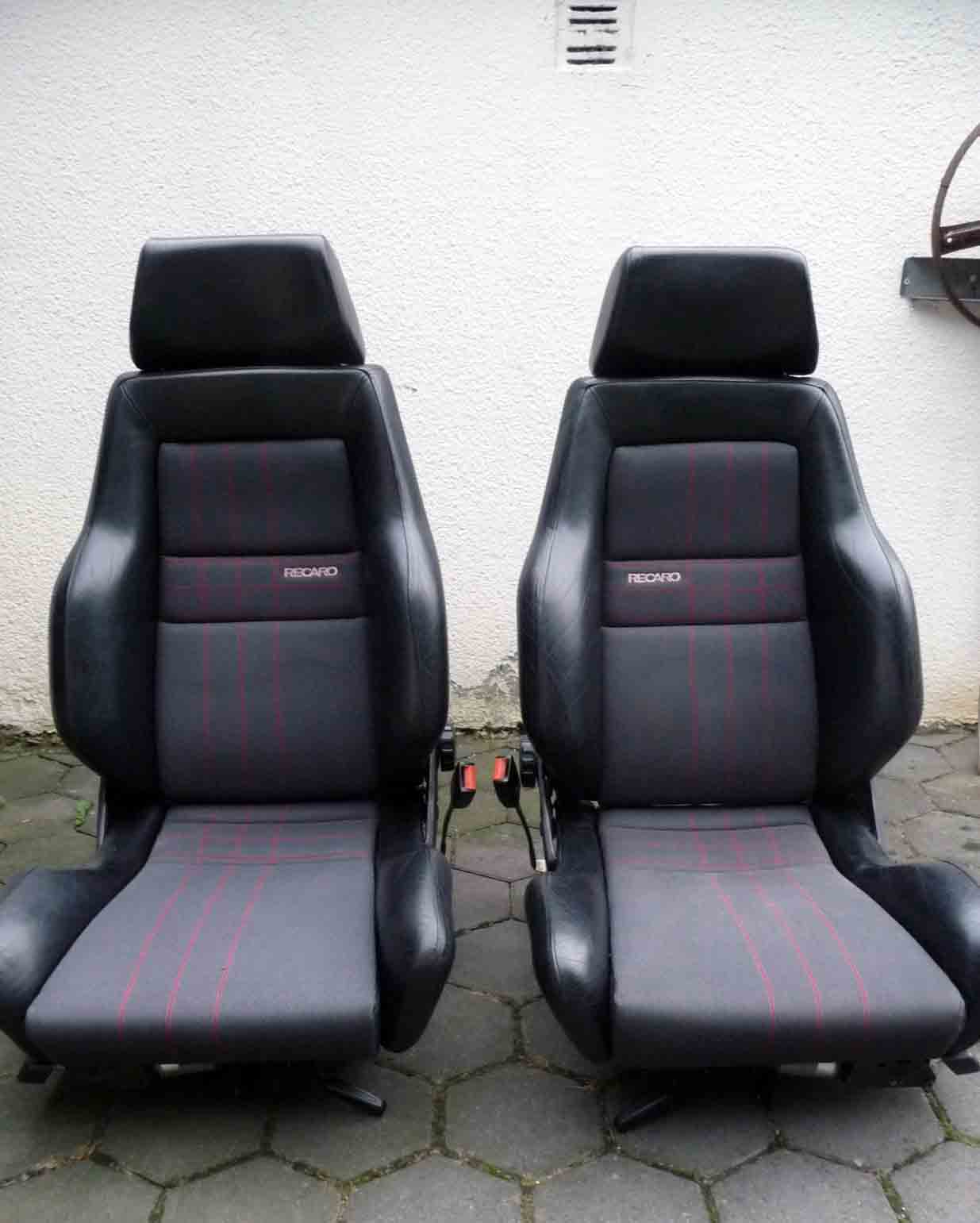 vw golf 2 ii elektrische recaro sitze rallye golf g60g biete. Black Bedroom Furniture Sets. Home Design Ideas