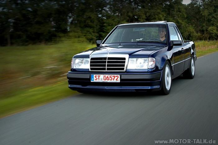 w124 pickip pickup umbau mercedes e klasse w124 203547748. Black Bedroom Furniture Sets. Home Design Ideas