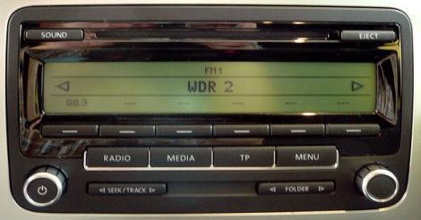 vw radio rcd 310 neuwertig biete car audio. Black Bedroom Furniture Sets. Home Design Ideas