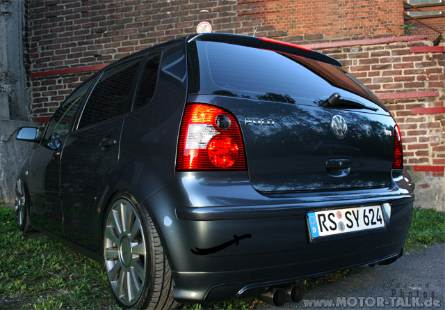 aaaa vw polo 9n mit tuning in zahlung geben vw polo 4. Black Bedroom Furniture Sets. Home Design Ideas
