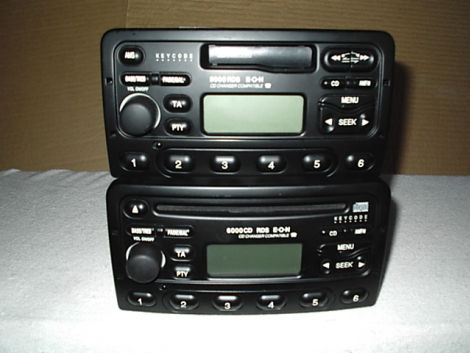 ford radio 6000 cd und 5000 biete ford. Black Bedroom Furniture Sets. Home Design Ideas