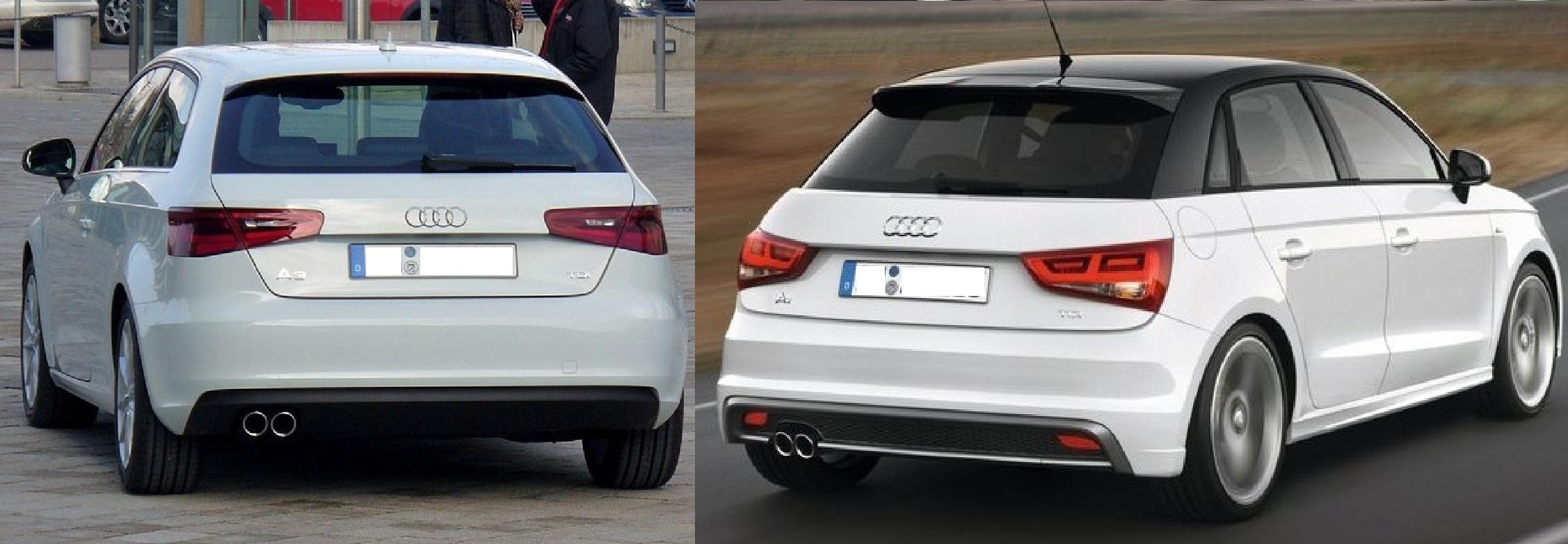 Audi A1 Vs A3 Auto Cars