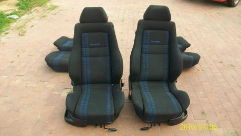 recaro gti edition sitze biete volkswagen. Black Bedroom Furniture Sets. Home Design Ideas