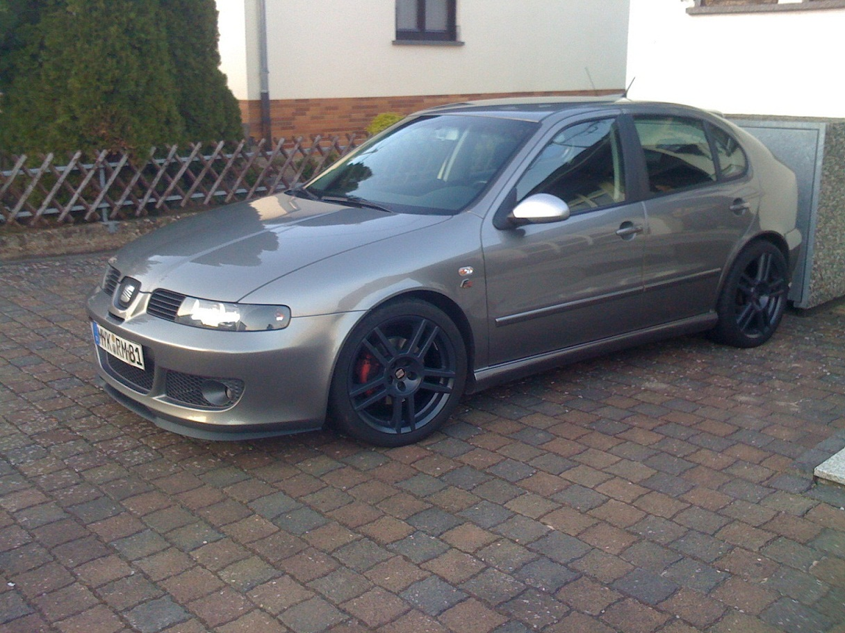 seat leon fr tdi 7 navi 18 cupra r alus front. Black Bedroom Furniture Sets. Home Design Ideas