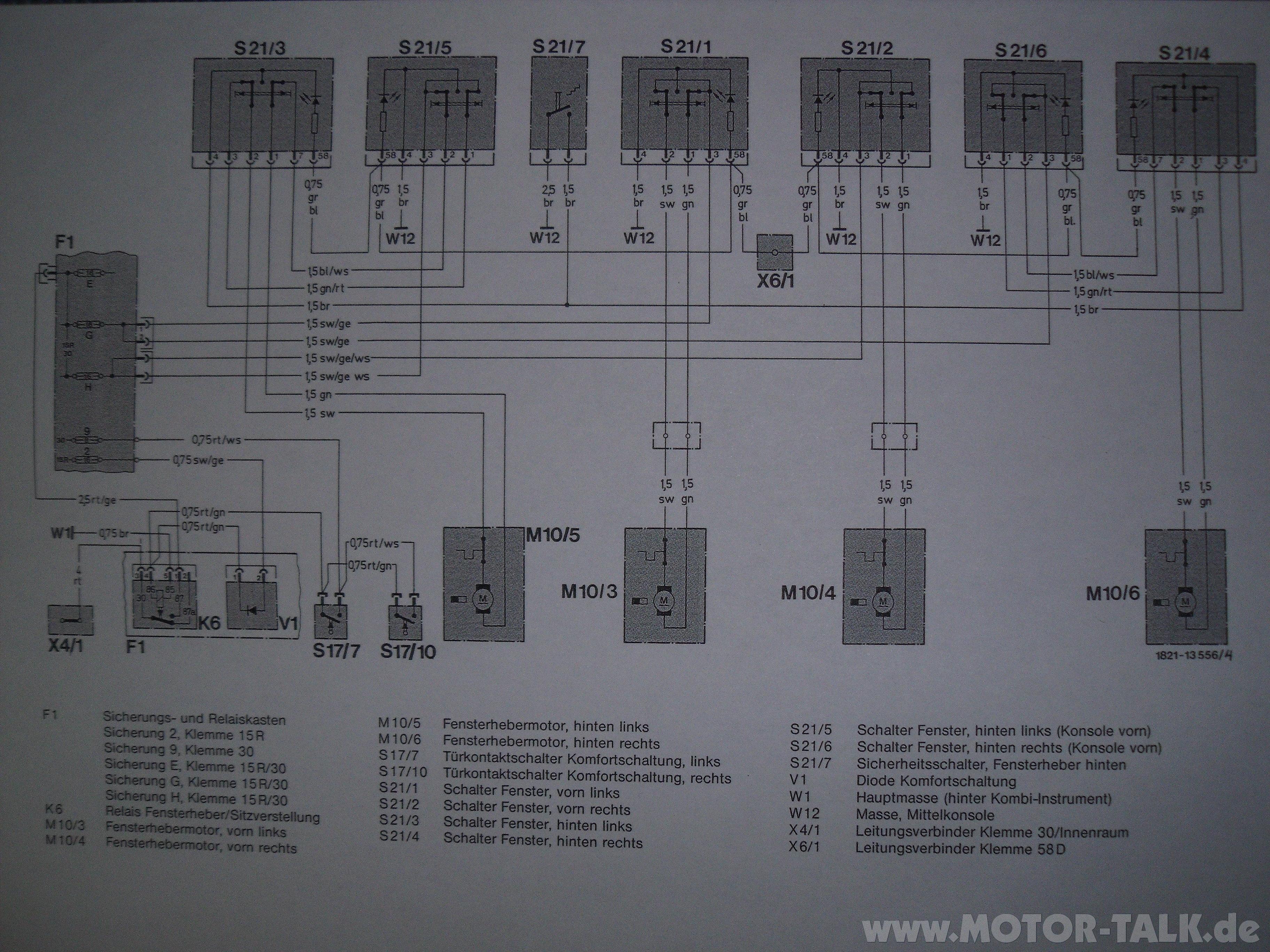 schaltplan w124 bis aug 88 004 elektronik problem. Black Bedroom Furniture Sets. Home Design Ideas