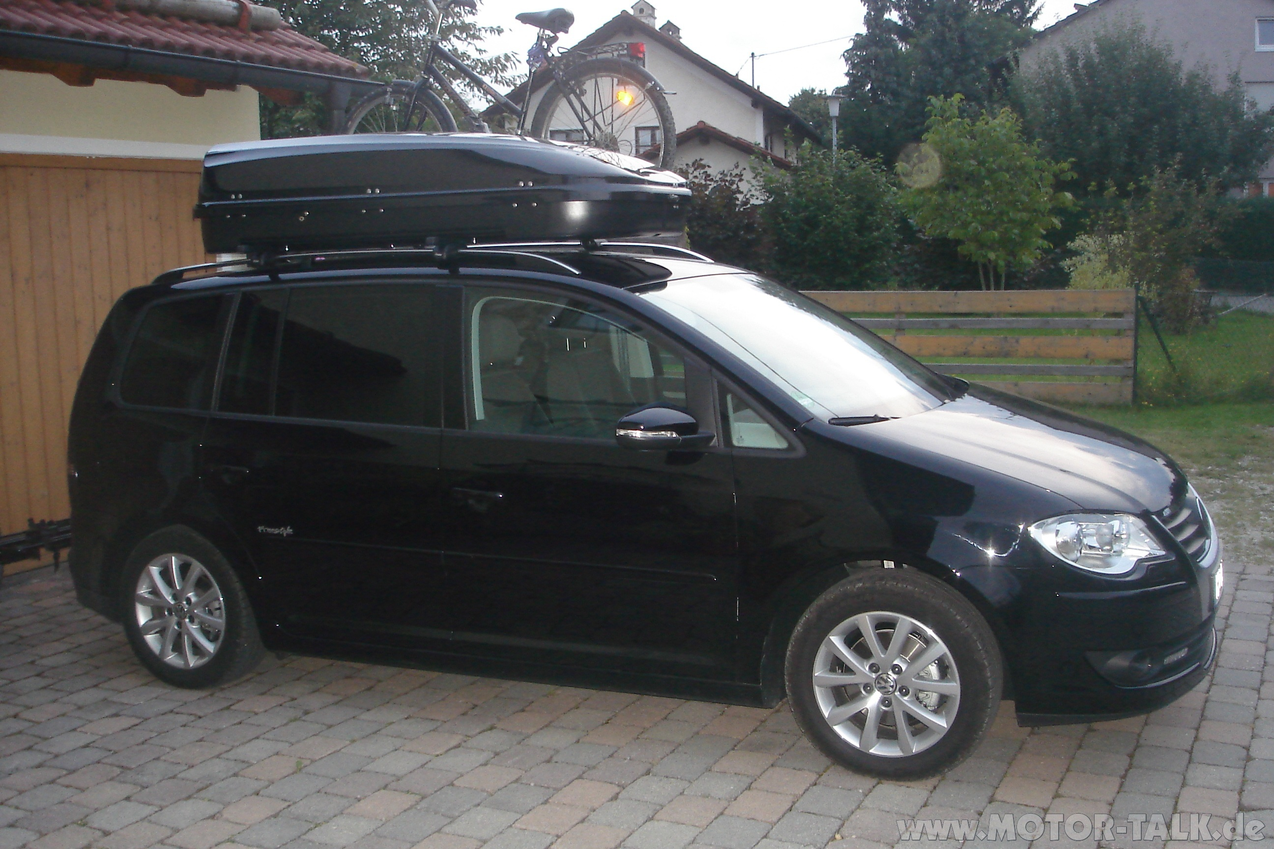 dachbox thule vw touran 203254602