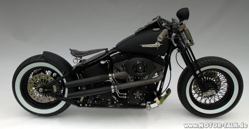tts kosten f r umbau einer softail zu bobber harley davidson 205982671. Black Bedroom Furniture Sets. Home Design Ideas
