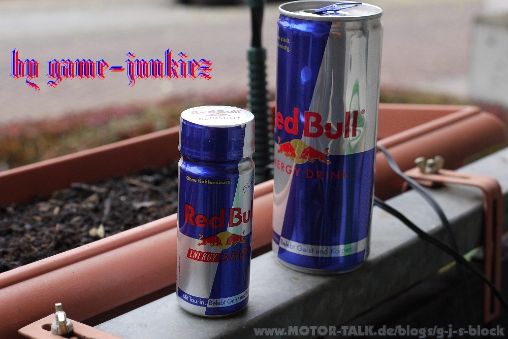 Red Bull Kühlschrank Folie : G j macht den selbsttest des red bulls kleiner bruder g j´s block