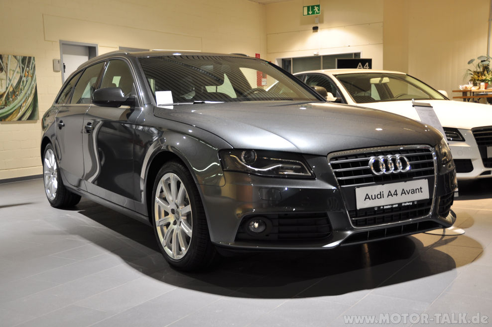 audi a4 avant 100 jahre jubil umsmodell mein neuer audi a4 b8 203164833. Black Bedroom Furniture Sets. Home Design Ideas