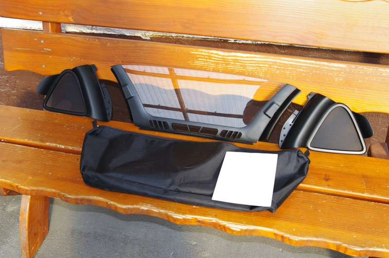 verkaufe original mercedes acrylglas windschott f r slk r171 biete. Black Bedroom Furniture Sets. Home Design Ideas