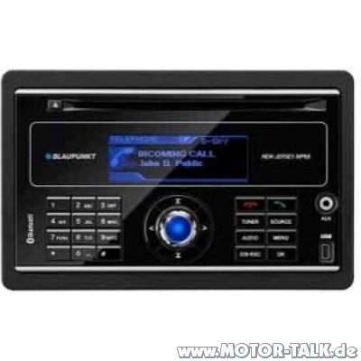 blaupunkt new jersey mp68 3542790 doppel din radio mit. Black Bedroom Furniture Sets. Home Design Ideas