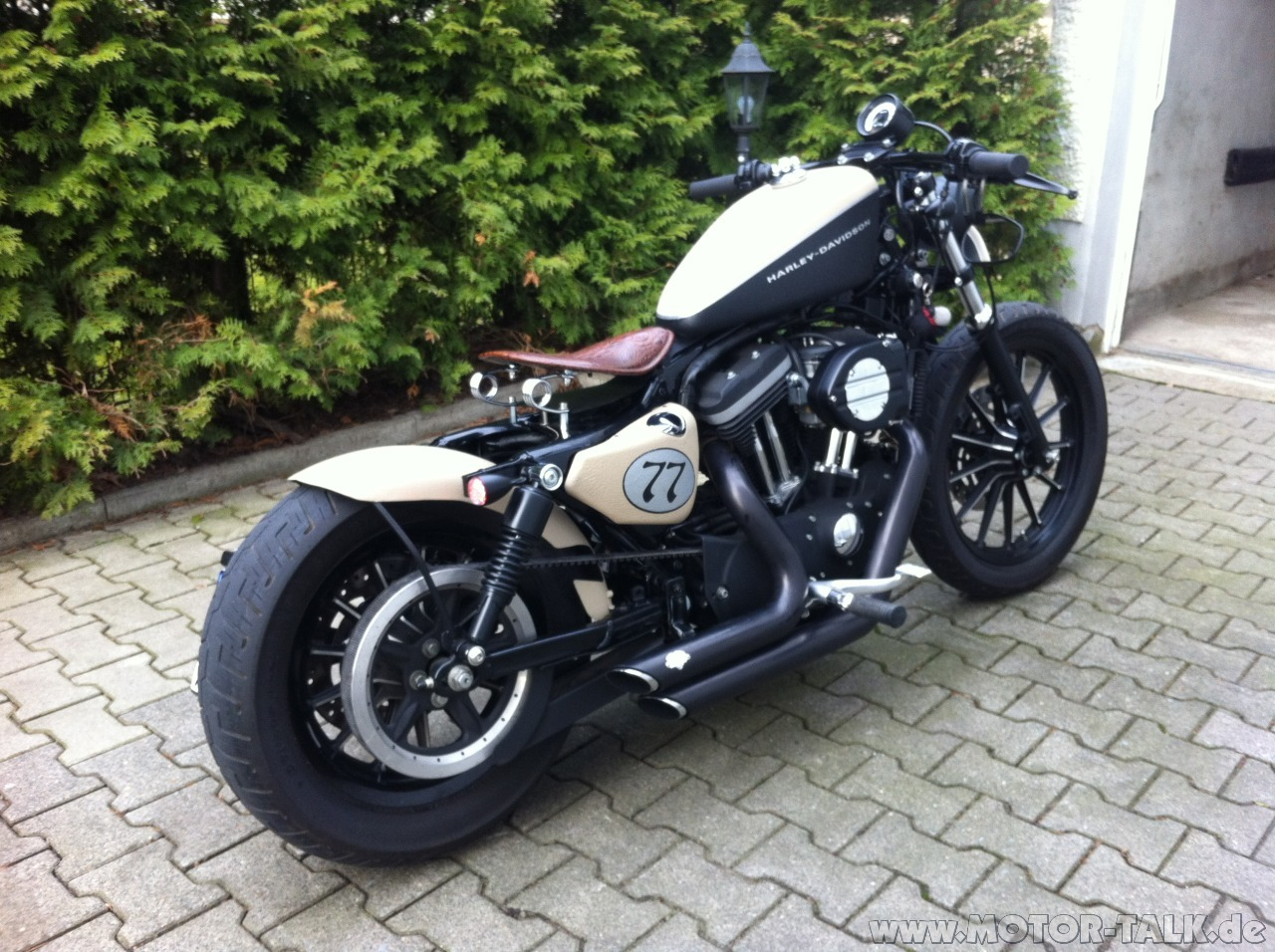 Custom Harley Davidson Motorcycles Pictures