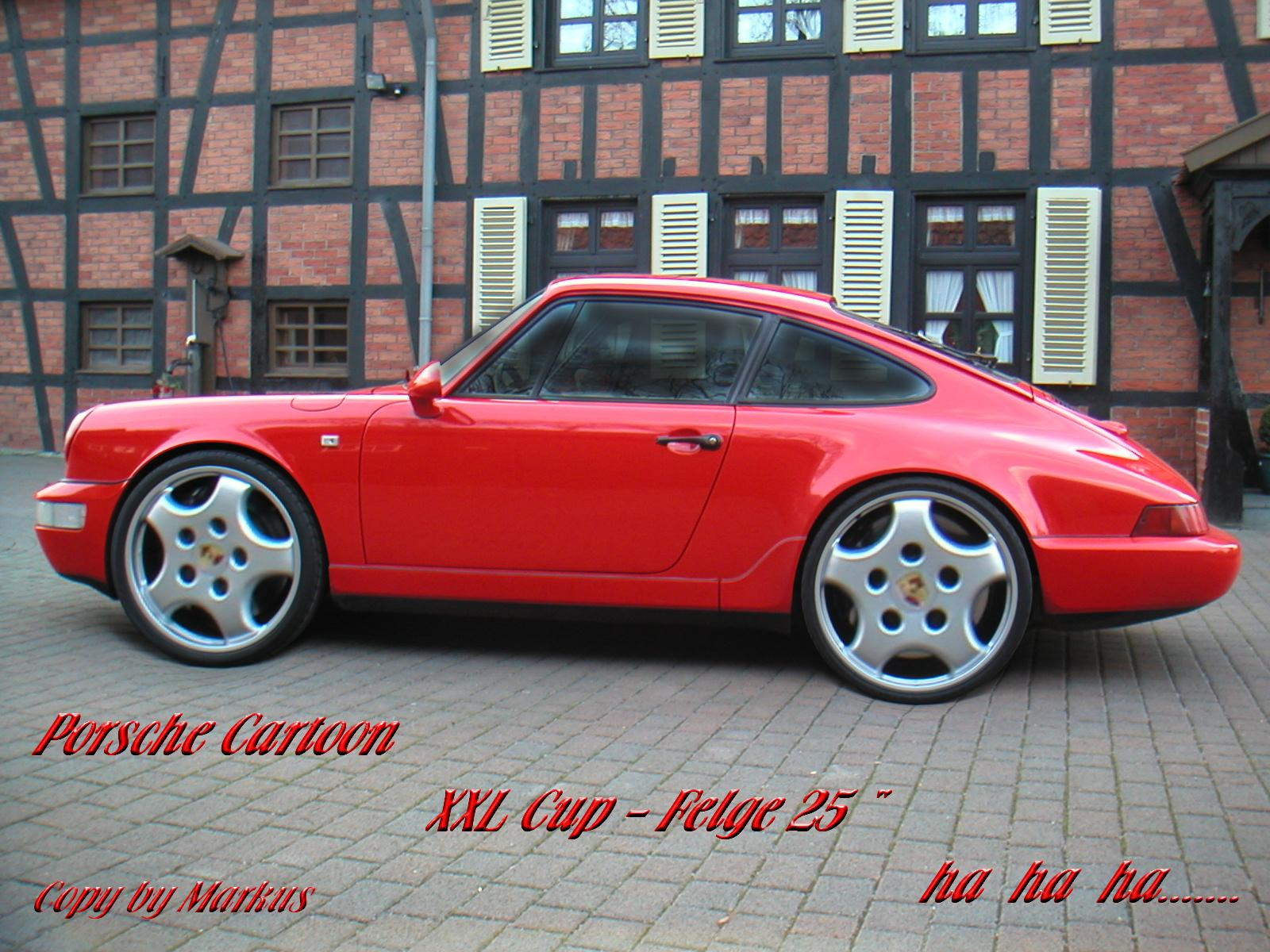 mein porsche 964 carrera xxl cup felge was f r eine. Black Bedroom Furniture Sets. Home Design Ideas