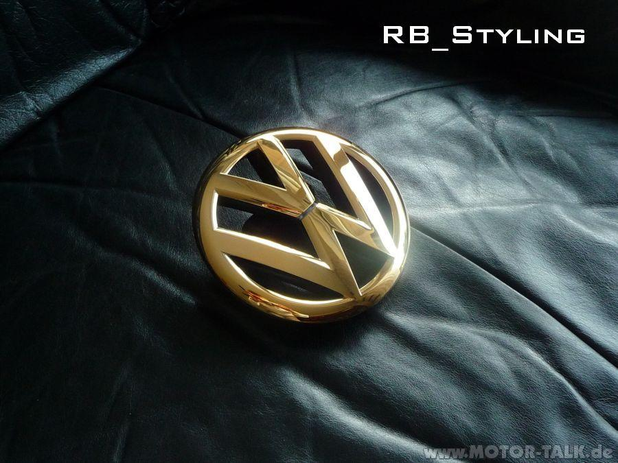 rb styling rb styling vw golf gti gtd vi 6 r emblem. Black Bedroom Furniture Sets. Home Design Ideas