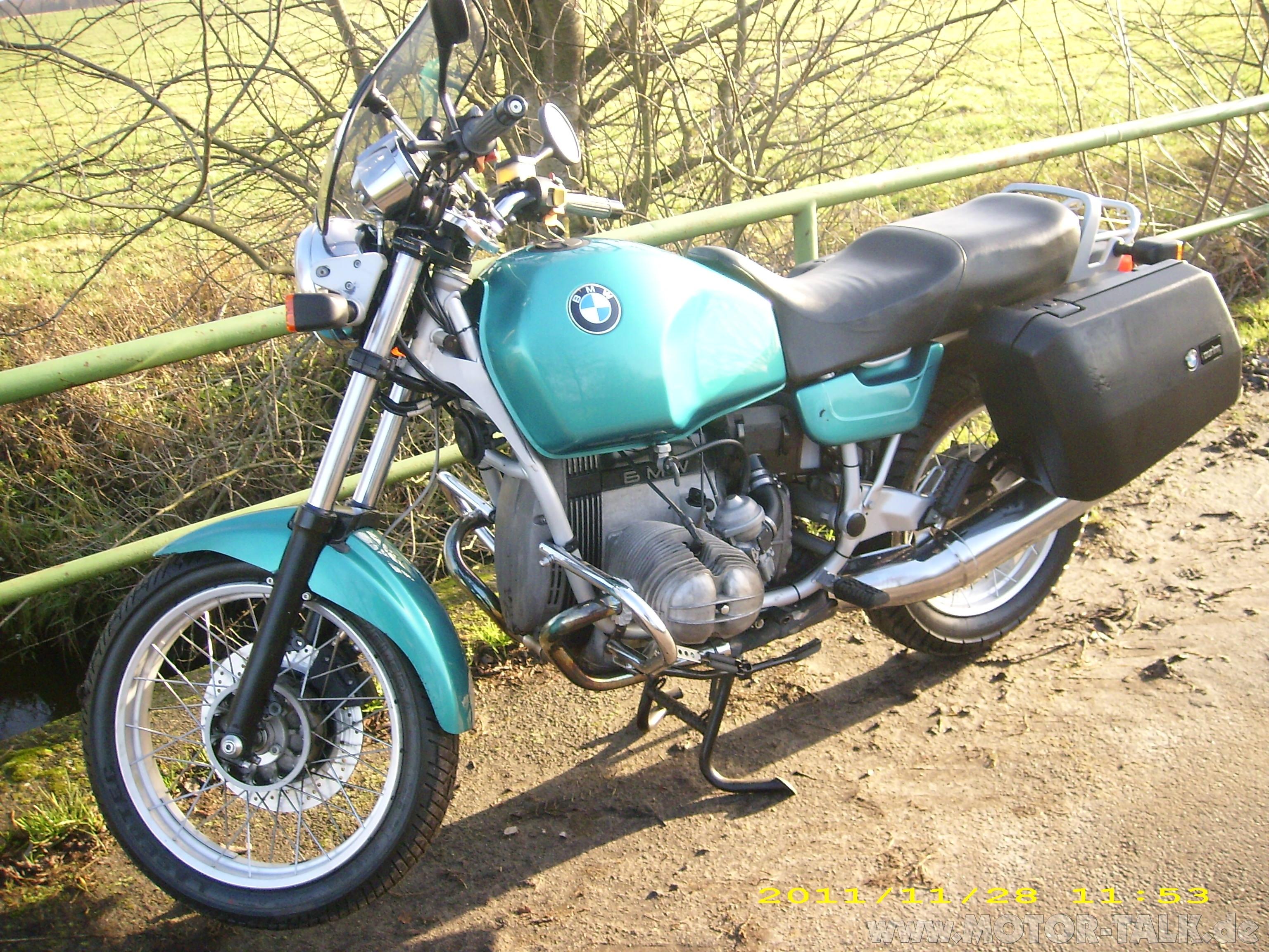 bmw r80 motorrad 25 jahre alte gummikuh kaufen bmw motorrad 205456505. Black Bedroom Furniture Sets. Home Design Ideas