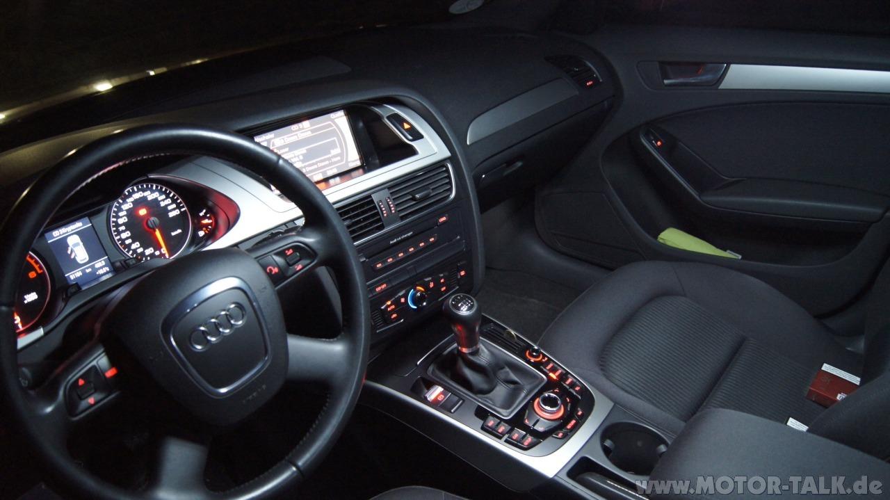 Audi A4 8k Innenraumbeleuchtung Und Ausstiegsbeleuchtung