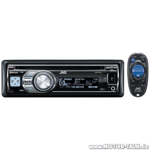 jvc kd r 801e autoradio mit interface anzeige audi a4 b6 b7 203251697. Black Bedroom Furniture Sets. Home Design Ideas