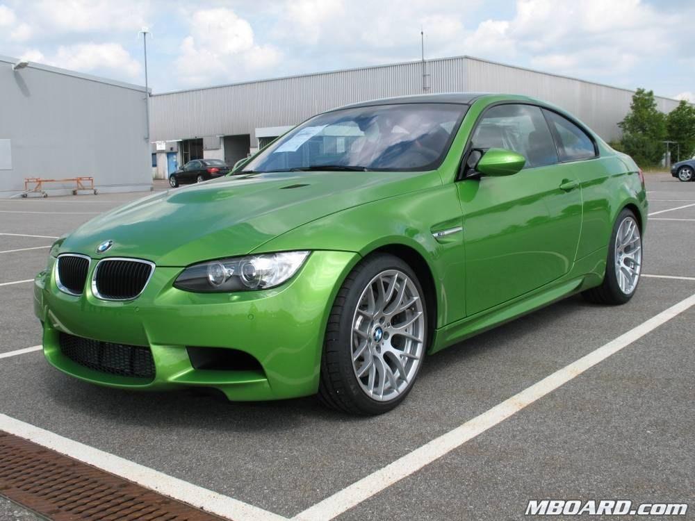 Bmw M3 Coupe Jawa Gruen 04 Farben Und Individualfarben