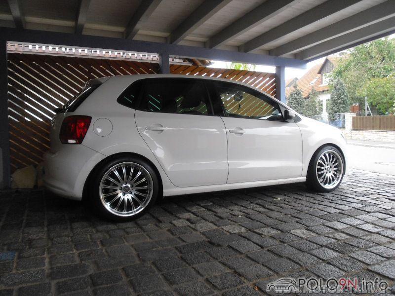 polo 35 55 h r tiefer felgen polo 6r vw polo 5