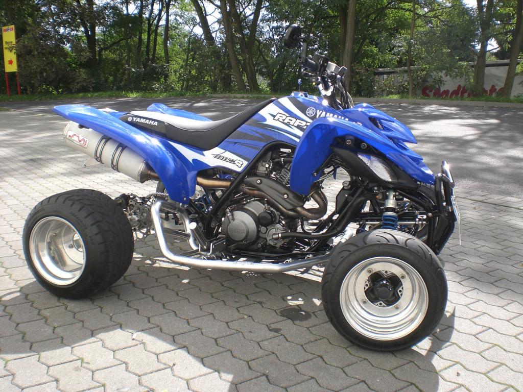yamaha raptor 660r quad zu verkaufen top show shine quad biete motorrad. Black Bedroom Furniture Sets. Home Design Ideas