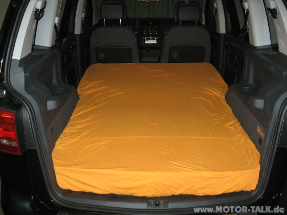 touran matratze1 vw touran 2006 facelift. Black Bedroom Furniture Sets. Home Design Ideas