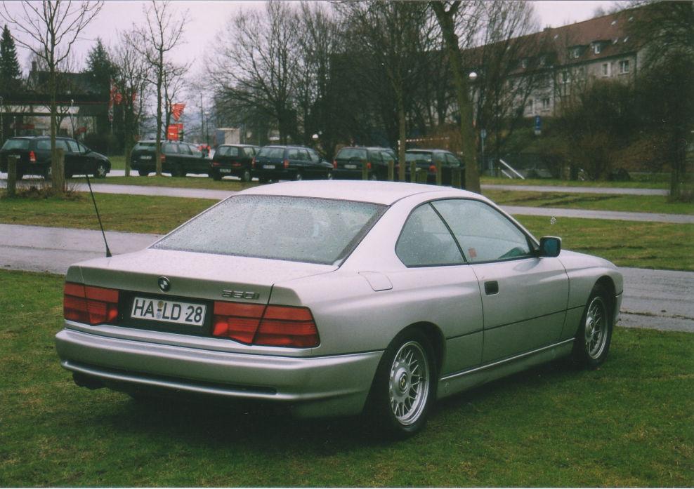 850i Heck BMW 8er Reihe E31 Von HappyYuppie Fahrzeuge