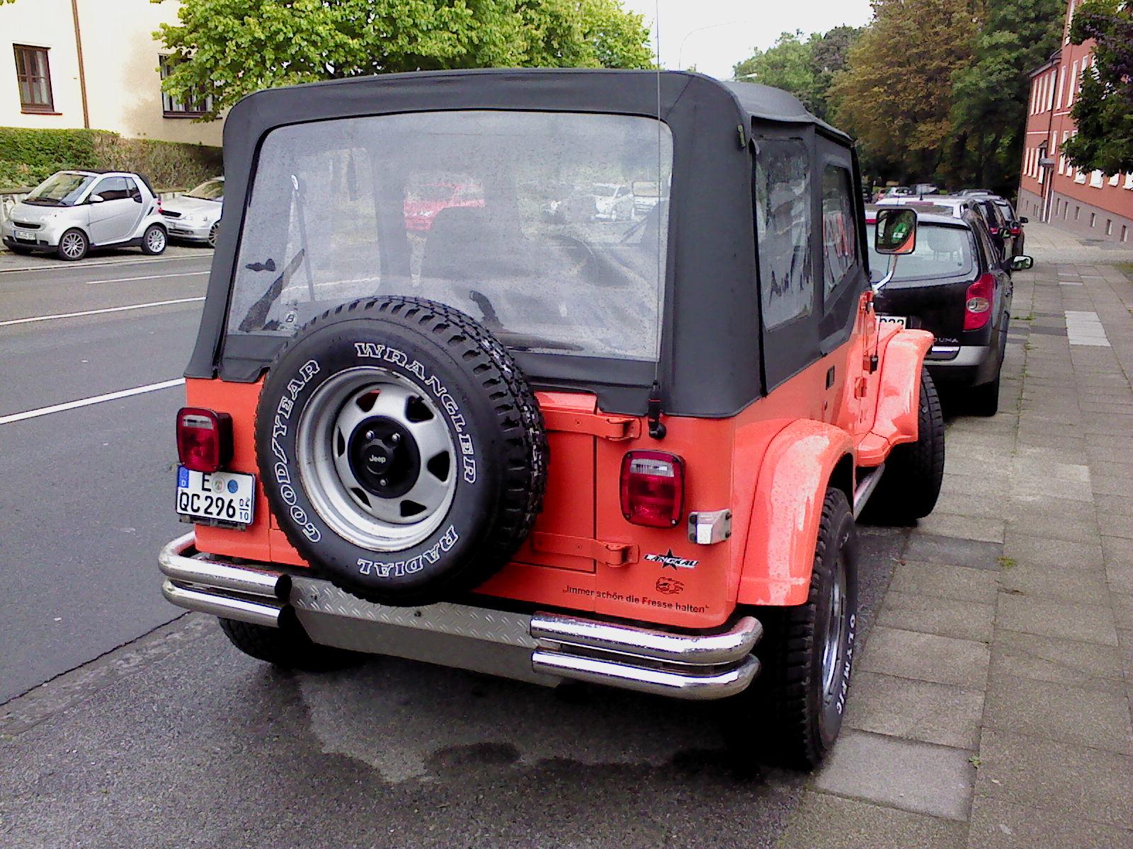 Jeep Wrangler YJ 25 TüvAu neu zu verkaufen  Biete