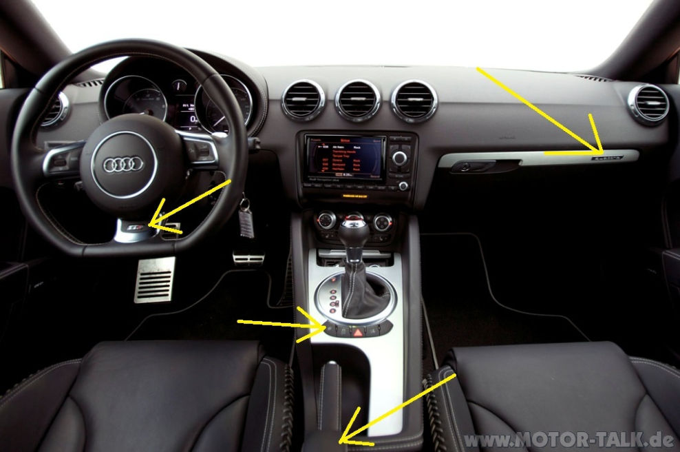 2012 audi tts dash interior hd wallpaper 6. Black Bedroom Furniture Sets. Home Design Ideas