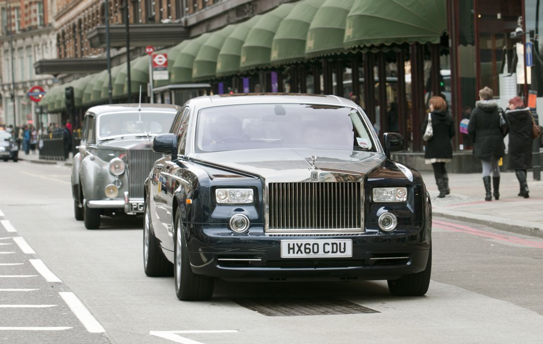 Luxury Car Chauffeur Service London