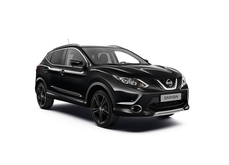 nissan qashqai sondermodell black edition nissan qashqai j 11. Black Bedroom Furniture Sets. Home Design Ideas
