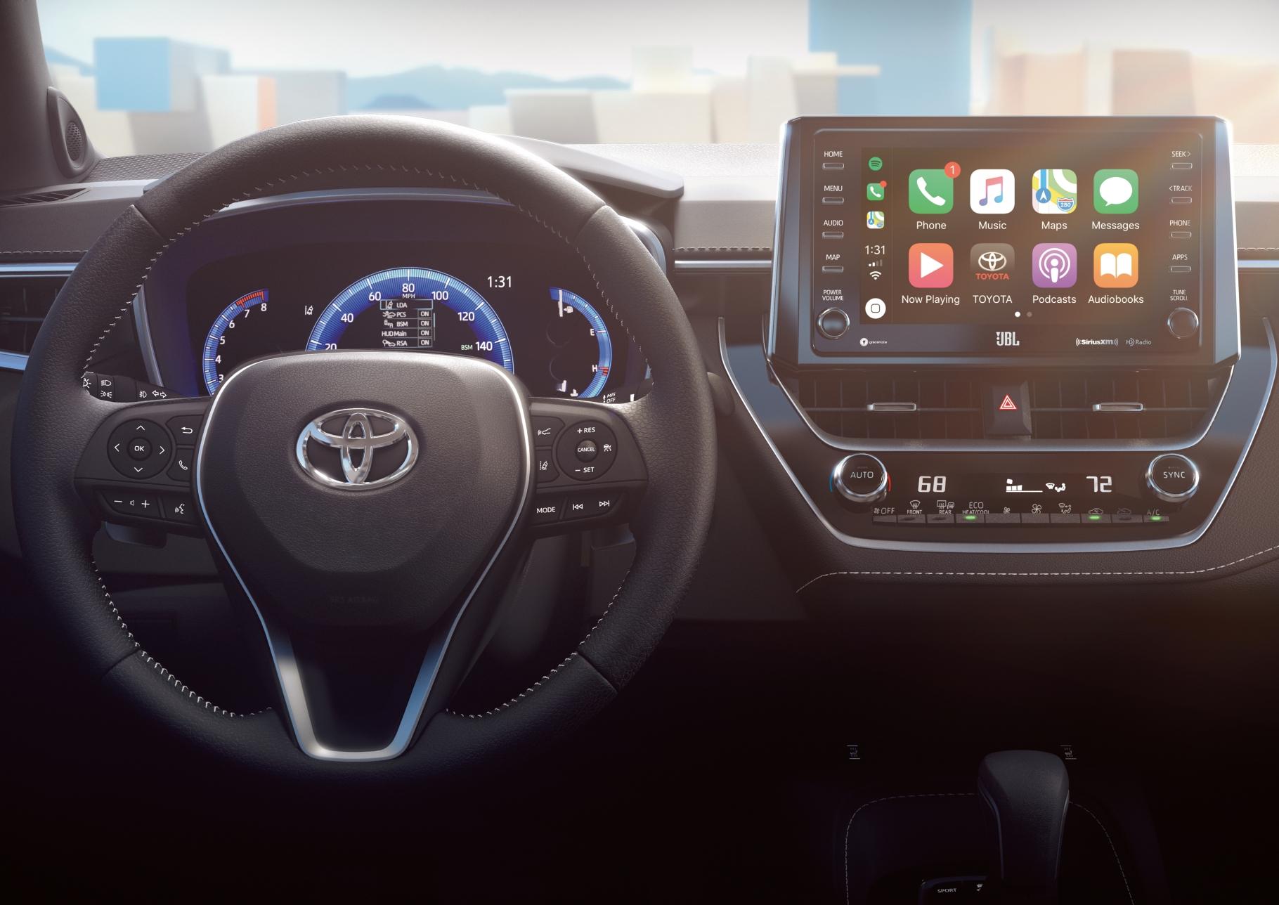 Toyota Corolla Usa My 2019 Erste Bilder Technik Ausstattung