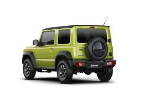 Heckansicht: Suzuki Jimny 2019