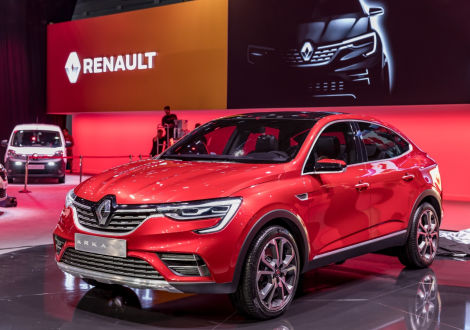 renault arkana suv 2019 premiere in moskau. Black Bedroom Furniture Sets. Home Design Ideas