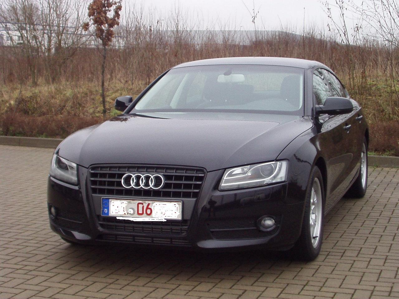 Audi A5 Schwarz 015 Unsicherheit Wg Optikpaket Schwarz