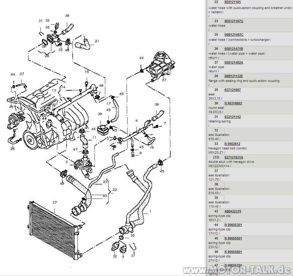Cooling Avj Geber K 252 Hlmitteltemperatur Wechseln Audi