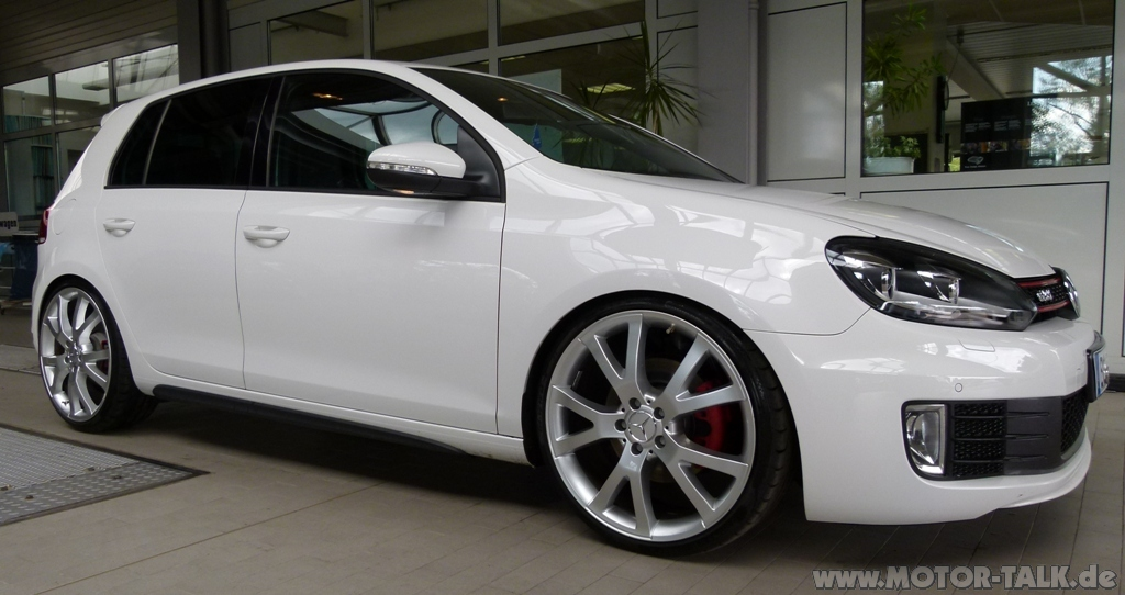 golf 6 gti mit bilstein b16 gewindefahrwerk und 8 5x20. Black Bedroom Furniture Sets. Home Design Ideas