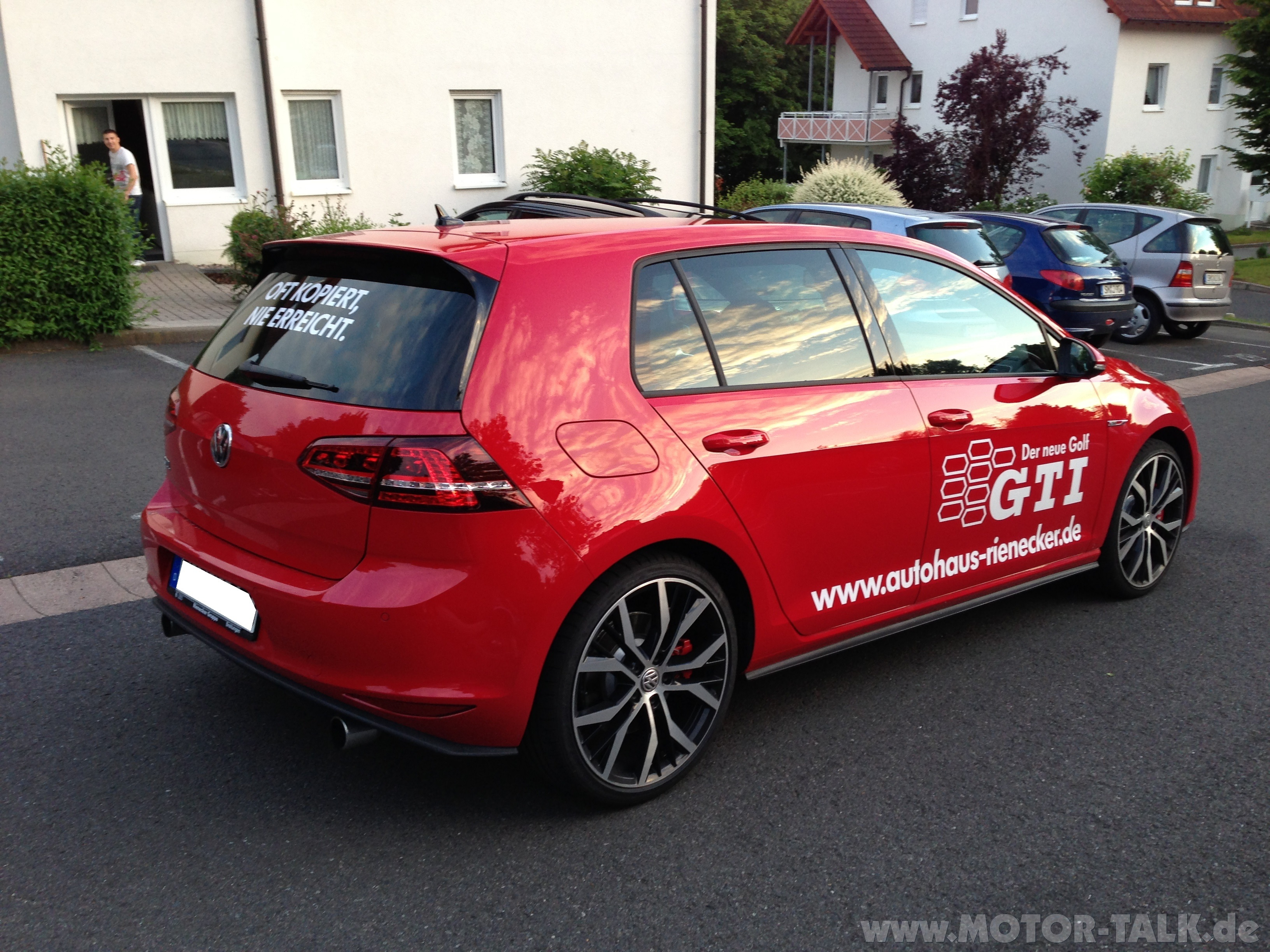 golf 7 gti performance probefahrt golf gti vw golf 7. Black Bedroom Furniture Sets. Home Design Ideas