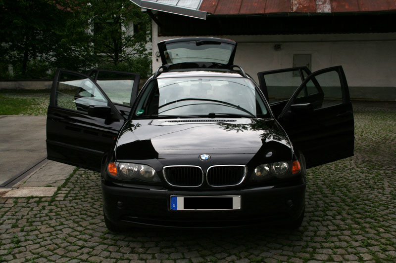 02 bmw 320d touring e46 dpf euro 4 gr ne plakette. Black Bedroom Furniture Sets. Home Design Ideas