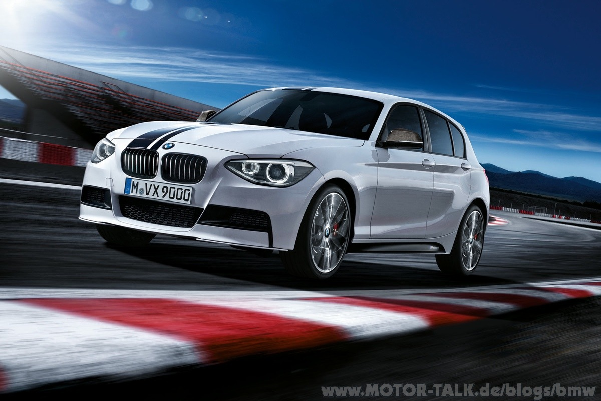 bmw 1er mit bmw m performance zubeh r bmw auf der tuning. Black Bedroom Furniture Sets. Home Design Ideas