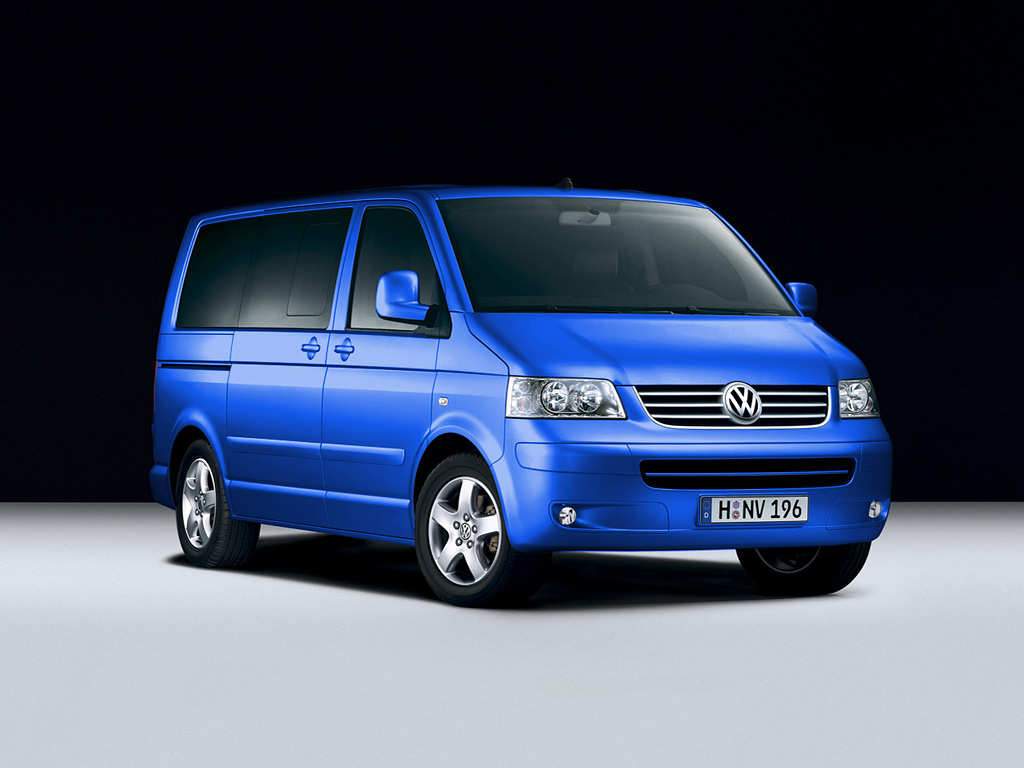 Multivan Summerblue Volkswagen Transporter T5 Multivan 1
