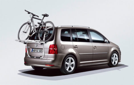 vw touran hecktr ger fahrradtr ger f r 2 neu heckklappe. Black Bedroom Furniture Sets. Home Design Ideas