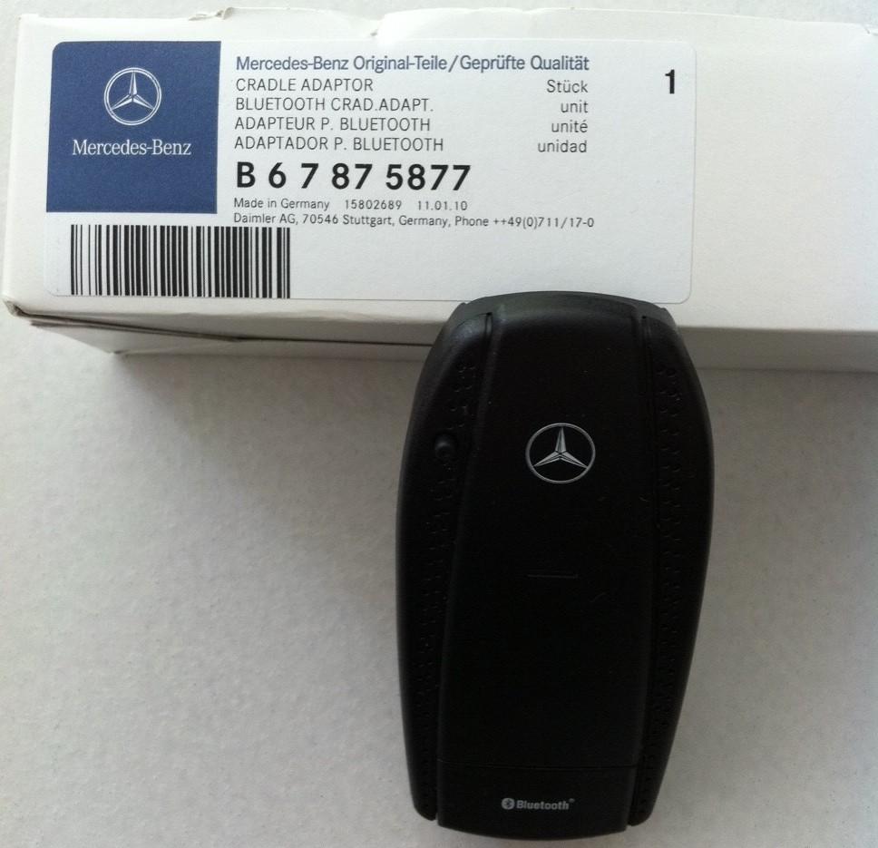 Original mercedes benz bluetooth cradle adaptor biete for Mercedes benz phone cradle