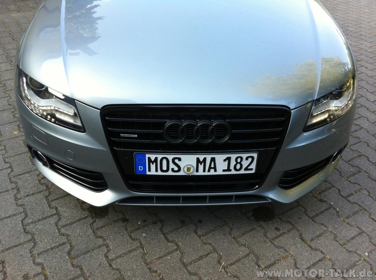 Image A4 B8 Grill Schwarz Audi A4 B8 206137729